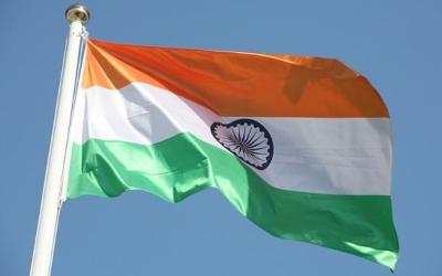 India-flag-flying-high