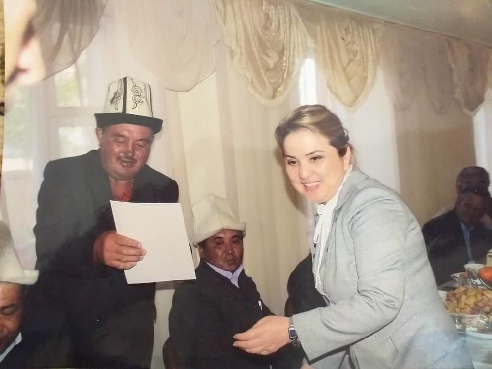Жанболот Жусупов и Дамира Ниязалиева