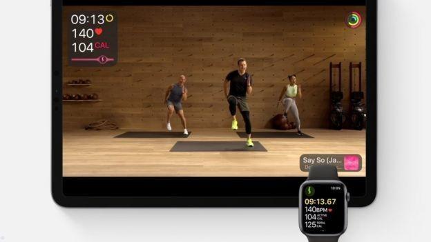 Новые часы работают с сервисом для фитнесса Fitness+