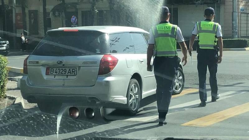 Патрульные остановили «умника», который решил проехать по встречке на ул.Московской