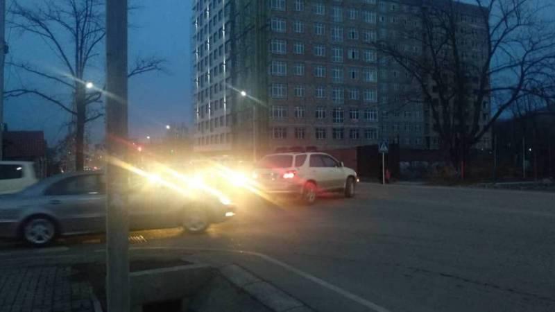 Горожанин просит установить светофор на Айни-Токтоналиева