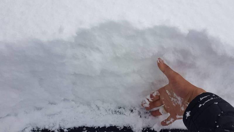 Снег в Караколе (фото, видео)