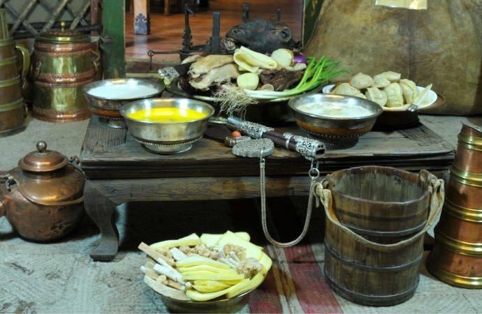 Монголия блюда