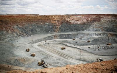 Oyu Tolgoi copper and gold