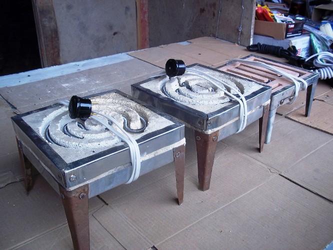 Электро печка своими руками 15