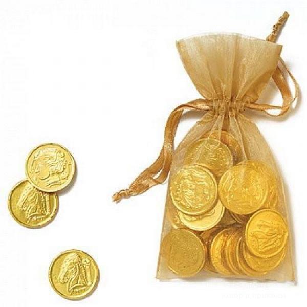 Маленький мешочек с монетами крона в какой стране