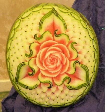 рисунок на арбузе фото