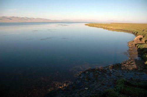 09 Утро на озере Сон-Куль