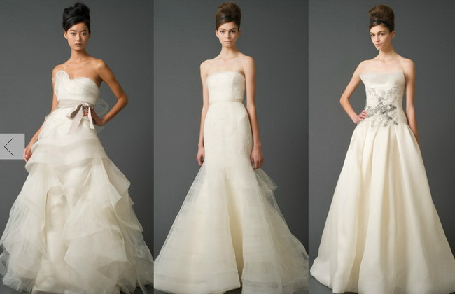Вера вонг свадебные платья цены