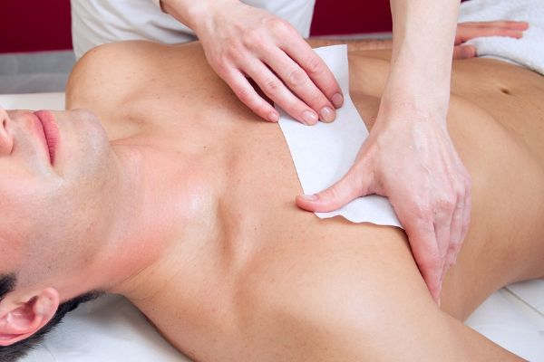 Как брить пах мужчине крем для депиляции