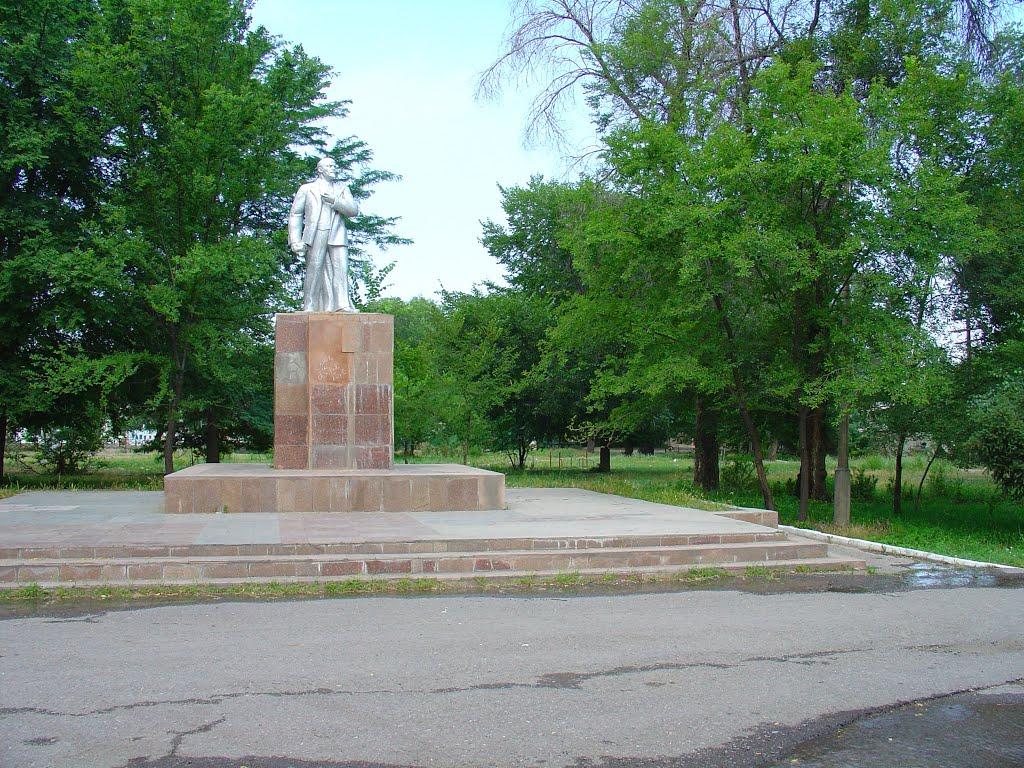 памятник Ленину в ЦПКиО