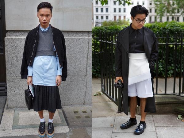 ba96b96ebf0 ... улицы Лондона украшала уличная мода. 1 6204e7de. 1 e5b08ef8. 2 a5930a9d