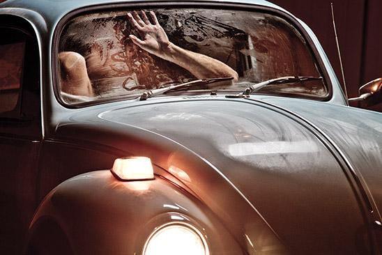 Красивый секс в машине