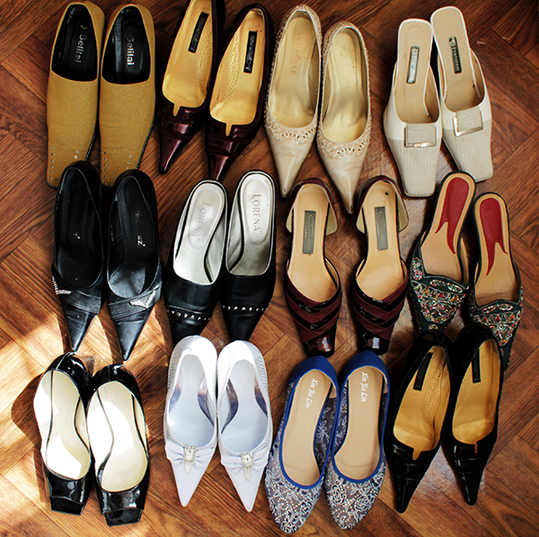 для новые красивые непарные туфли во сне планировки
