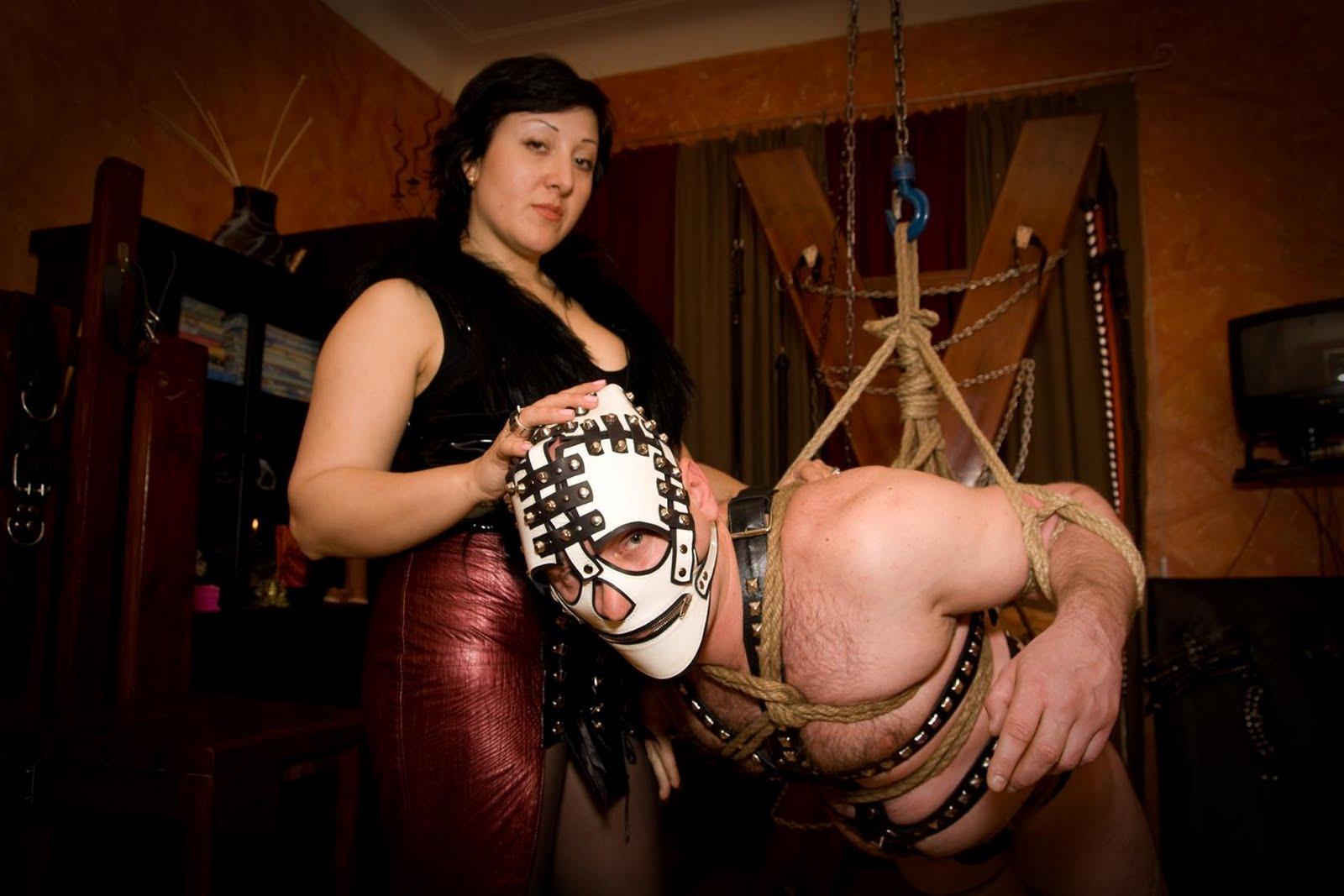 Секс игр в госпожу и раба