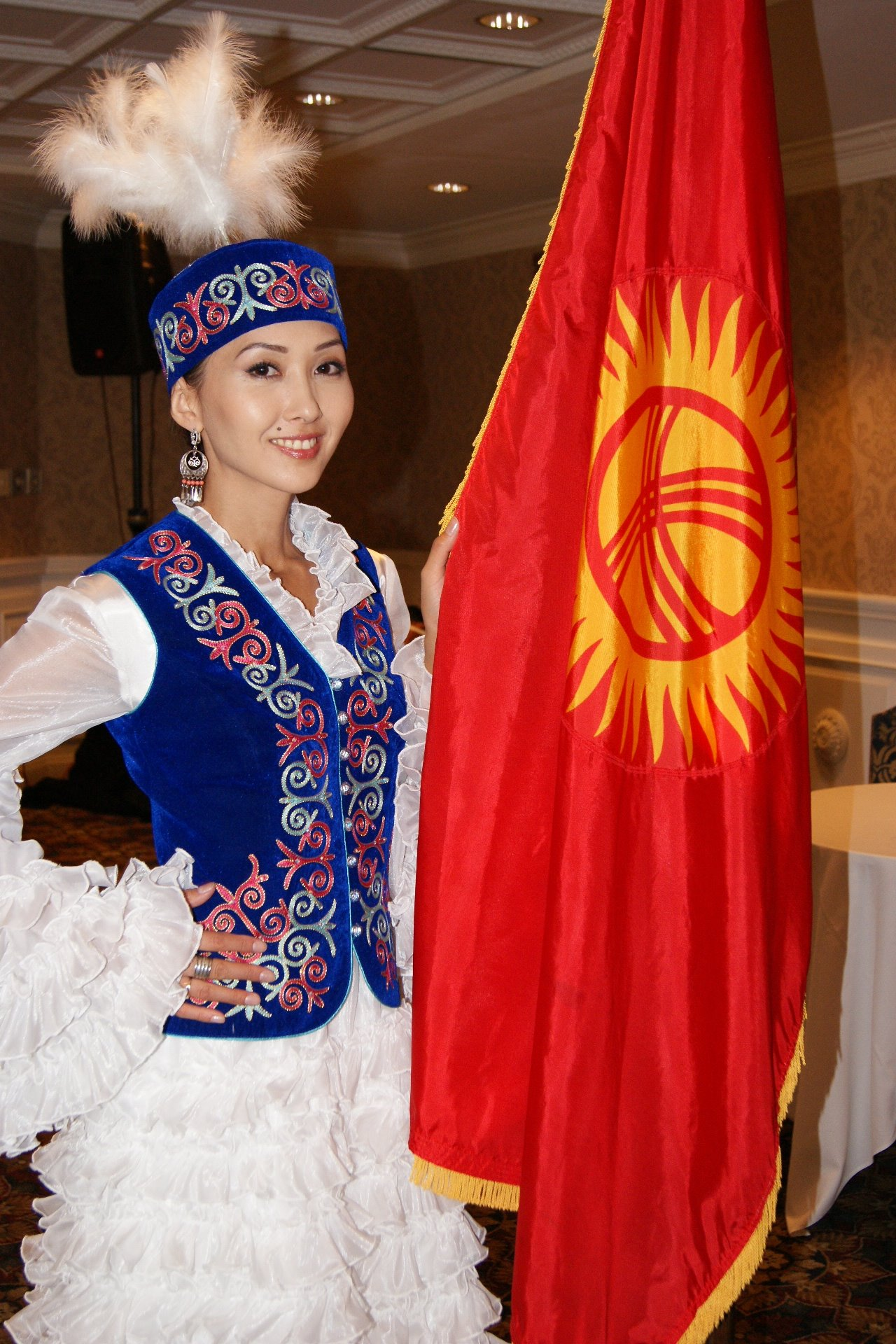 Национальные платья кыргызстана
