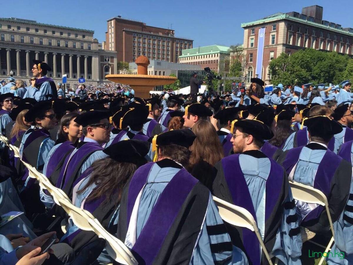 выпускной Columbia Law School
