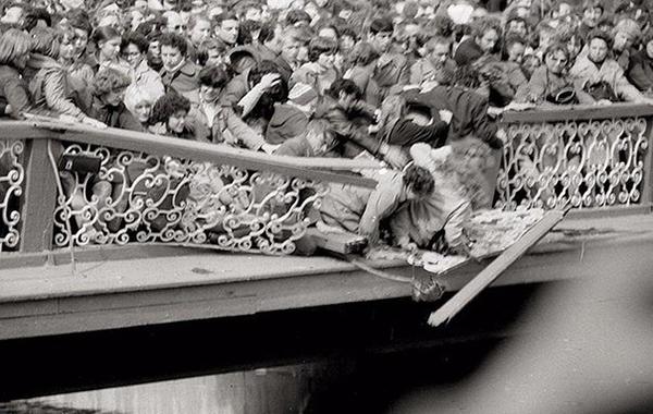 _Открытие фонтанов в Петергофе, 1983 год.
