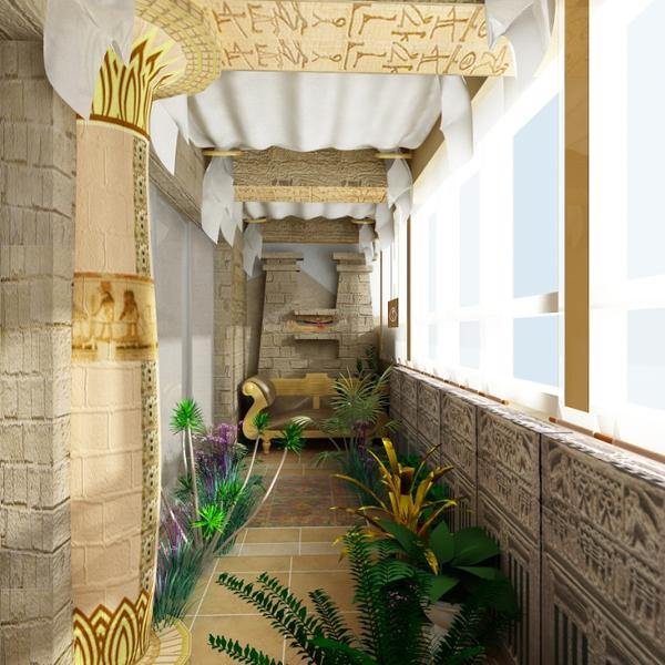Proдизайн: Яркие дизайнерские решения балконов и лоджий - li.