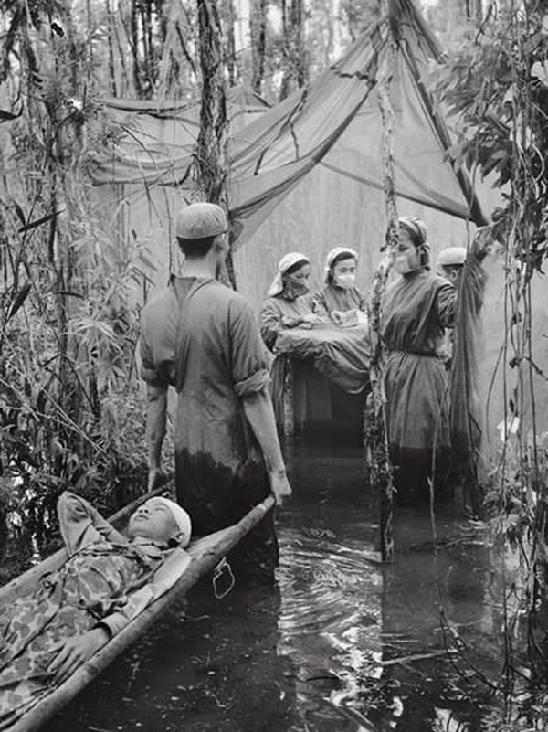 Полевой госпиталь, Камбоджа, 1961 г.