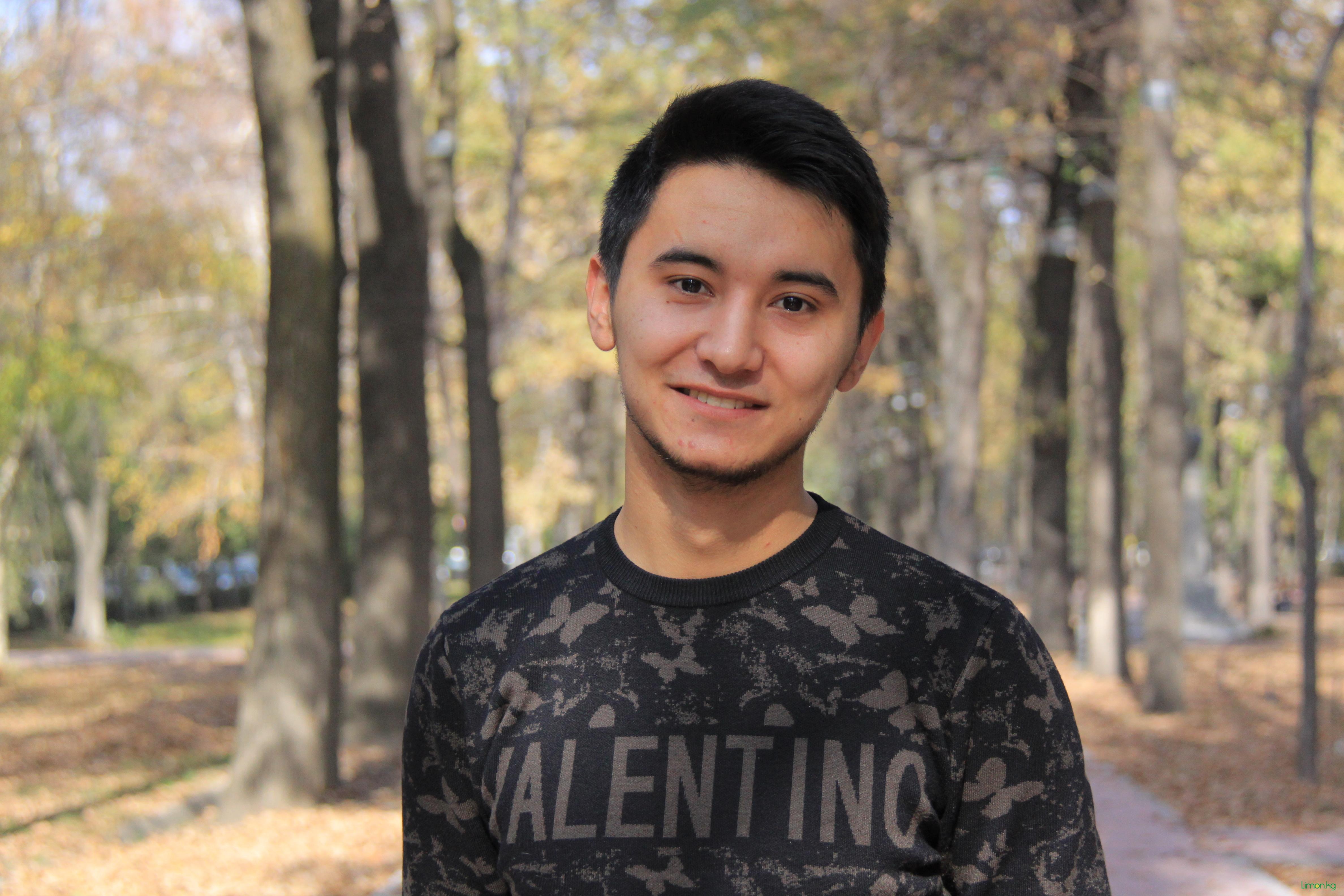 Арафат Абайдулаев, 20 лет, студент