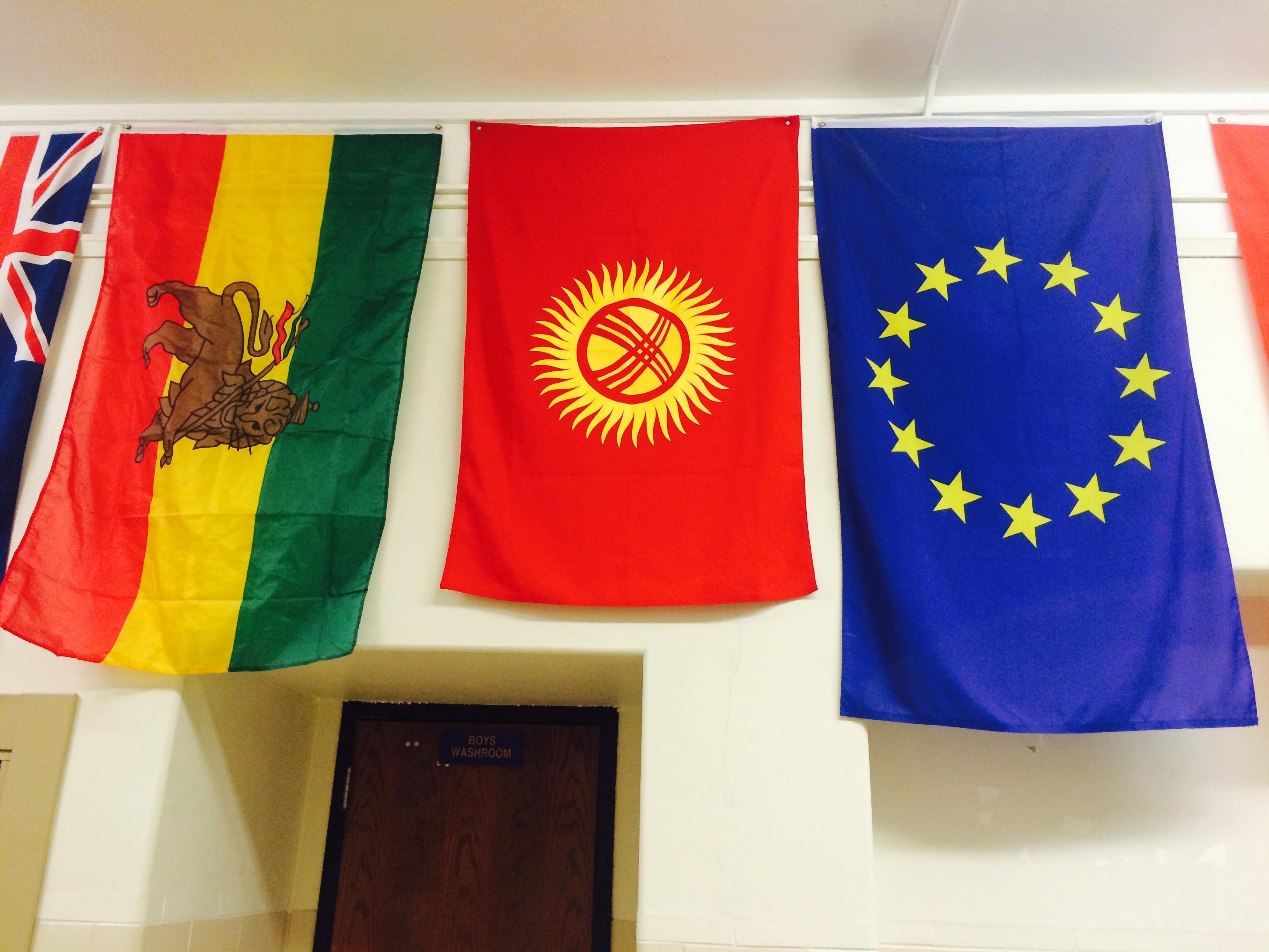 Наш флаг в университете