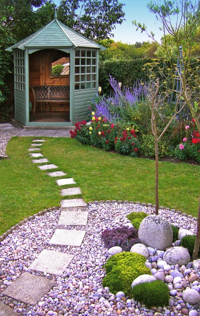 Как сделать дизайн садового участка