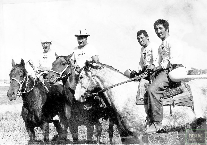 Команда киргизских джигито