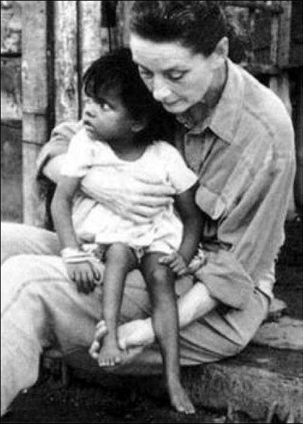 одри хепберн и ее дети фото