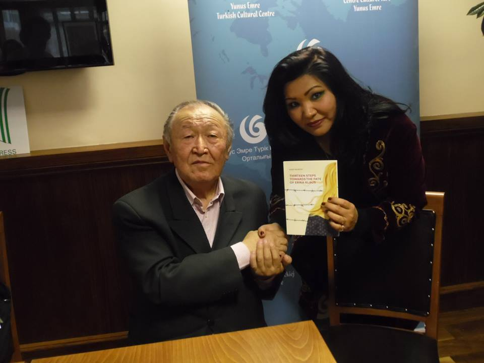 Встреча с писателем Казатом Акматовым Лондон 2013