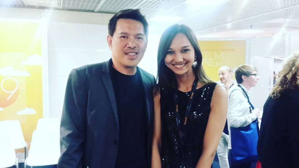 With Brillante Mendoza
