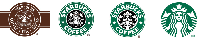 Starbucks Logo History  Logo Design Team