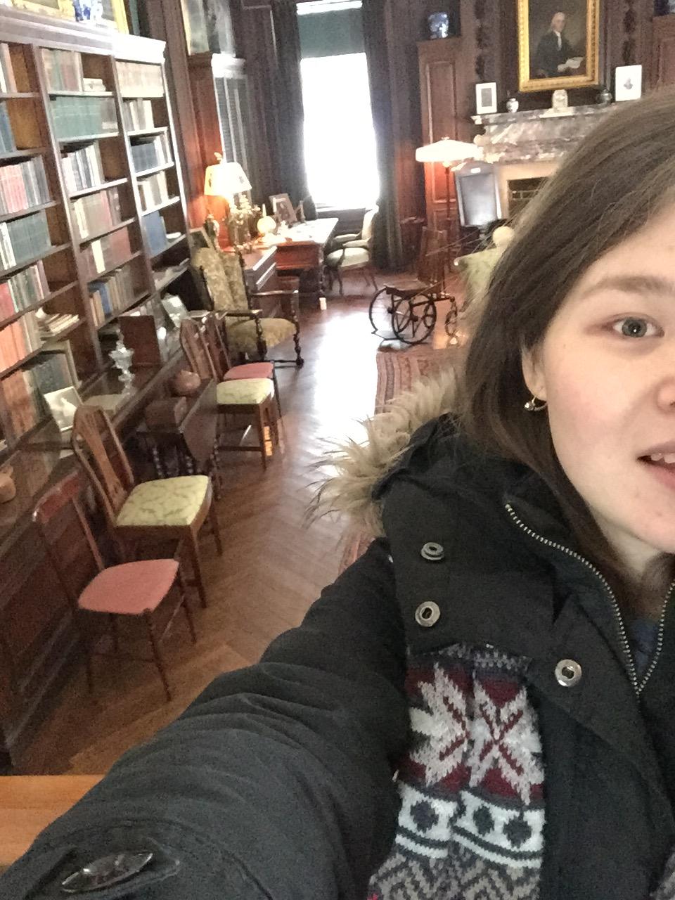 Дом-музей Рузвельта. Его комната и инвалидное кресло