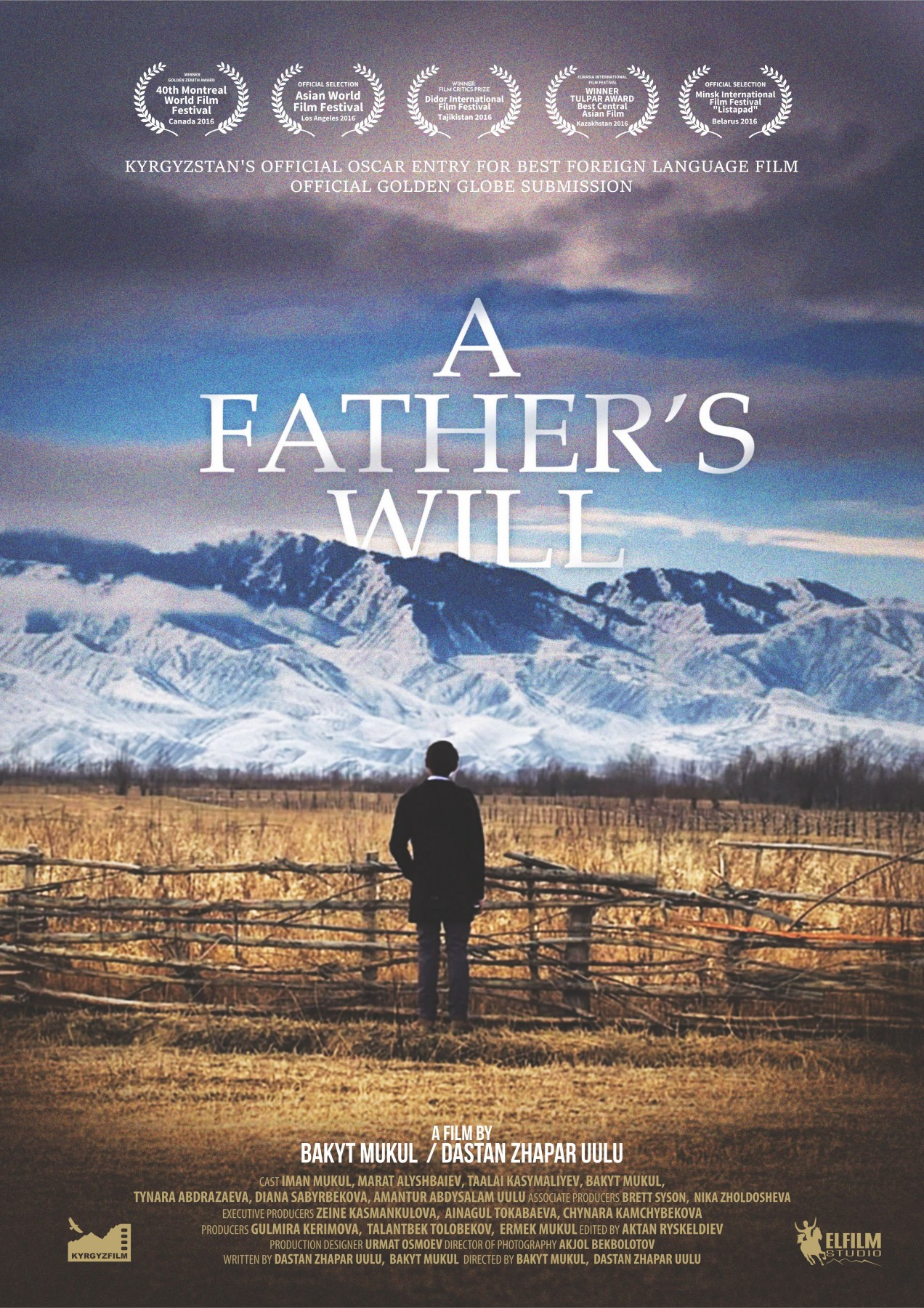 A Father's will A-1 Poster