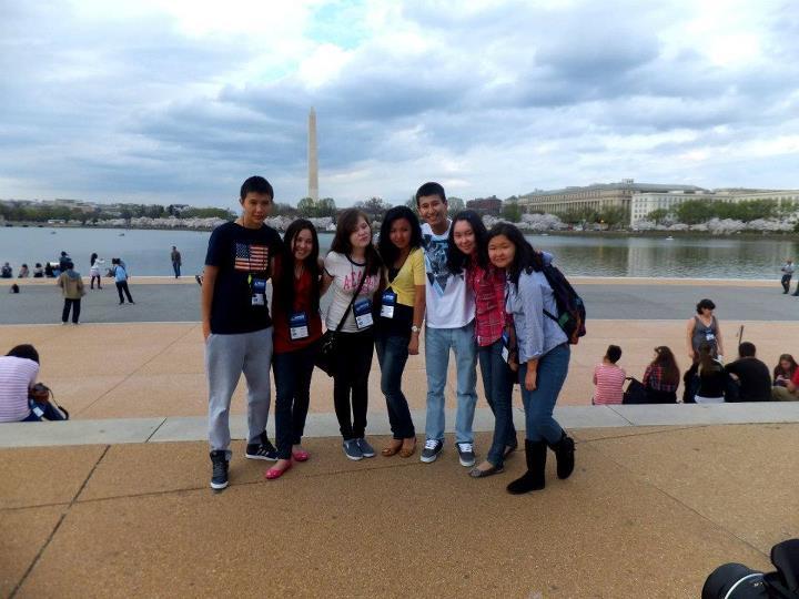 В Вашингтон с ребятяами ФЛЕКС из Кыргызстана