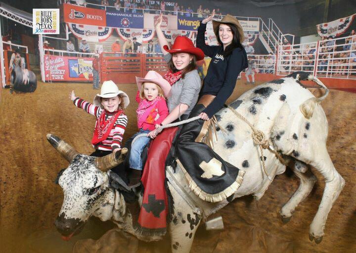 В Техасе с сестрой и племянницами