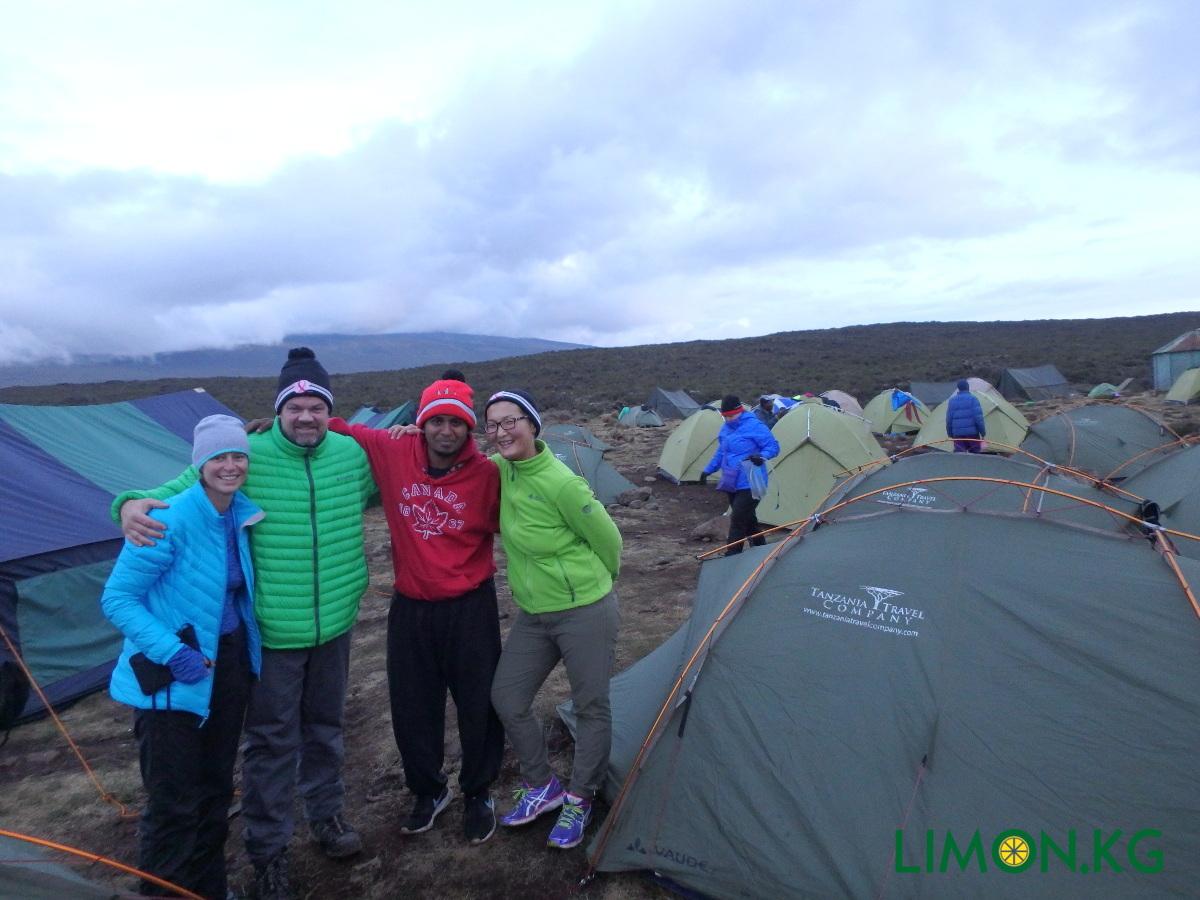 Kilimanjaro - nochuem