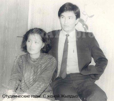 Т.Батыралиев с супругой
