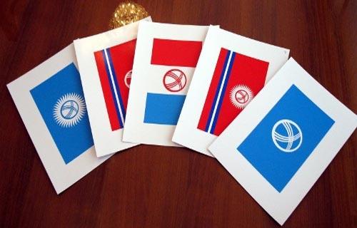 Образцы флага КР