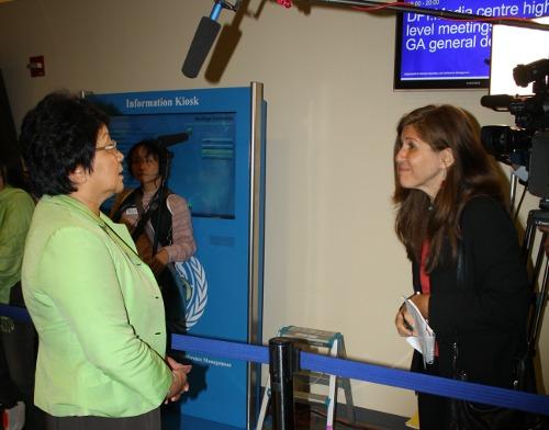 Интервью для СМИ в нью Йорке 2011 г