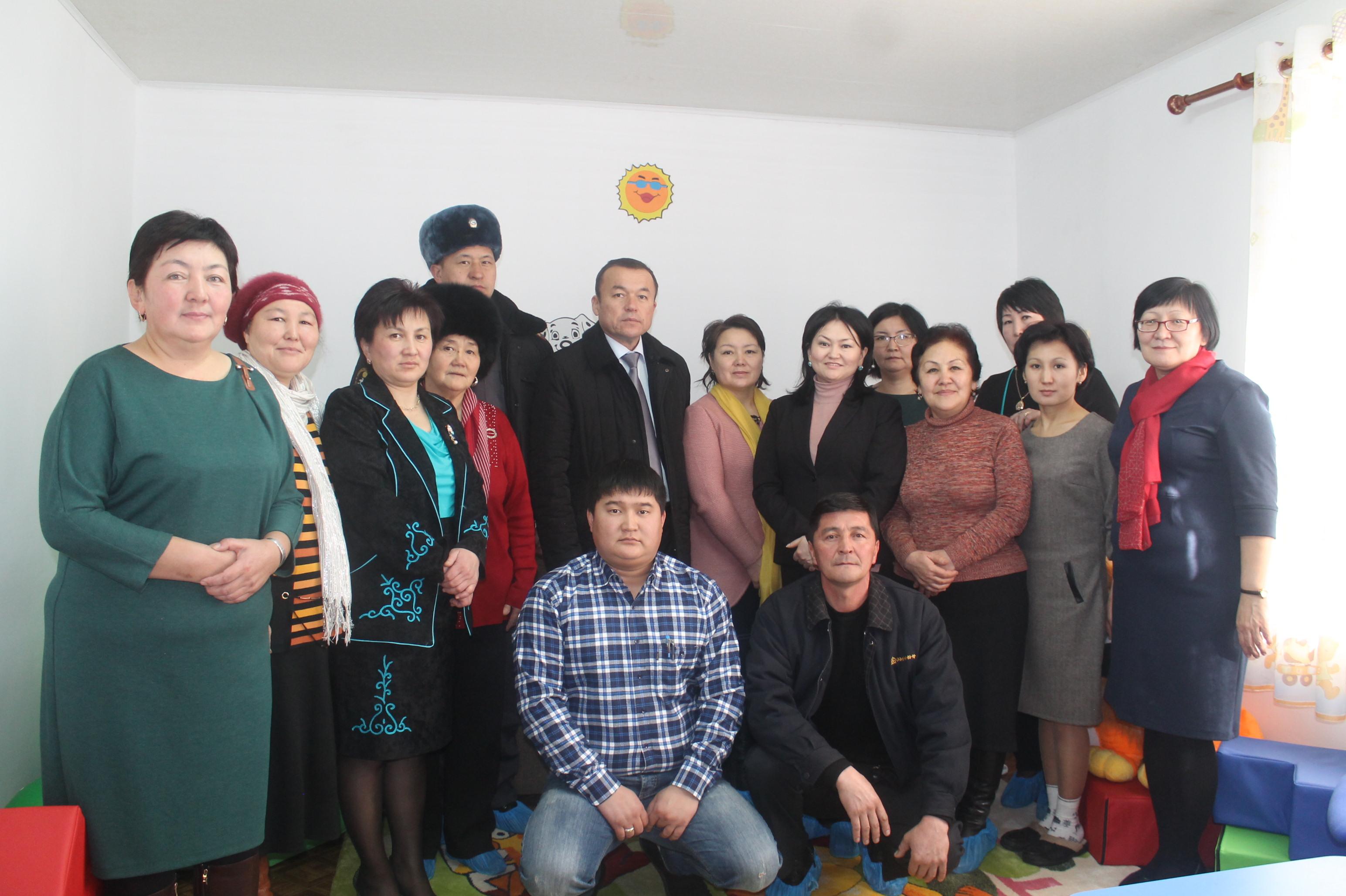 Команда  Центра помощи детям в г.Талас