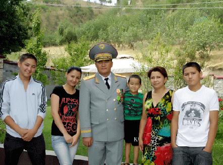 Камчыбек Ташиев, семья
