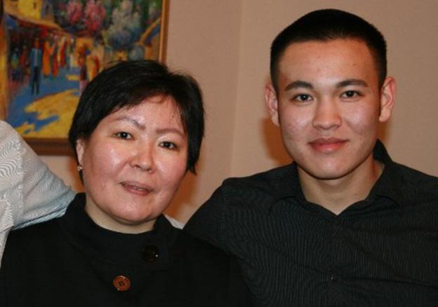 Замира Сыдыкова и Тенгиз Сыдыков