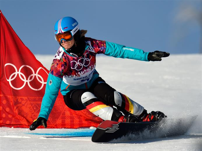 Фоторепортаж — Олимпиада. Сноуборд. Мужской и женский гигантский ... 80b80627254