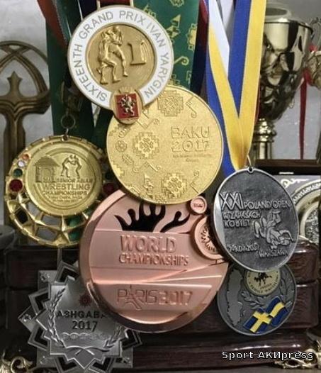 Все медали за 2017 год1