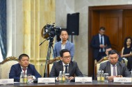 """The government of Kyrgyzstan attaches a big importance to expansion of the political dialogue with Korea and expresses readiness and openness for it,"" PM Abilgaziyev said."