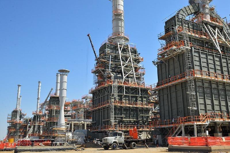 Крупнейший газоперерабатывающий завод строят в Туркменистане