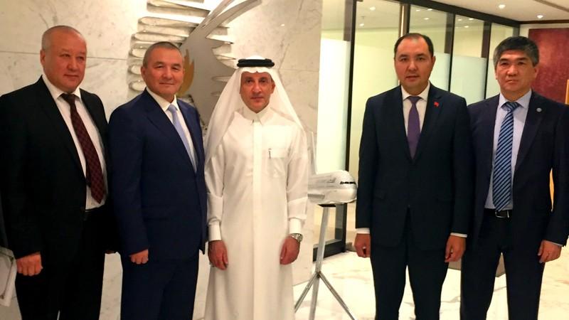 Кыргызстан и Катар обсудили создание транспортных коридоров для перевозки пассажиров и доставки грузов