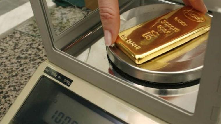 Золотые слитки Нацбанка Таджикистана с начала года подорожали на 3 процента