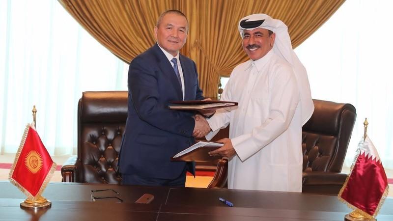 Кыргызстан и Катар подписали соглашение о воздушном сообщении